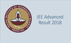 JEE Advanced 2018 Result image
