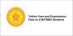 VJNT/SBC Students Scholarship, Maharashtra, Class 1