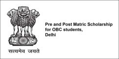 Pre and Post Matric Scholarship for OBC students, Delhi 2018, Class 6