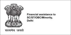 Financial assistance to SC/ST/OBC/Minority, Delhi 2018, Class 6