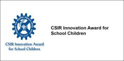 CSIR Innovation Award for School Children  2018, Class 6