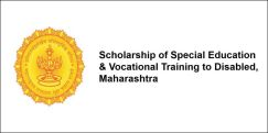 Scholarship of Special Education & Vocational Training to Disabled, Maharashtra 2017-18, Class 7