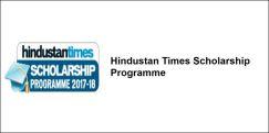Hindustan Times Scholarship Programme  2017-18, Class 7