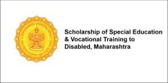 Scholarship of Special Education & Vocational Training to Disabled, Maharashtra 2017-18, Class 1
