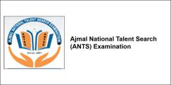Ajmal National Talent Search (ANTS) Examination 2018, Class 8