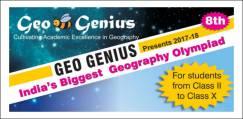 Geo Genius Geography Olympiad 2018-19, Class 8