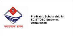Pre-Matric Scholarship for SC/ST/OBC Students, Uttarakhand 2018-19, Class 1