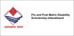 Pre and Post Matric Disability Scholarship  Uttarakhand 2018, Class 8