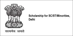 Scholarship for  SC/ST/OBC/Minorities, Delhi 2018, Class 1
