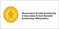 Government of India Scholarship in Secondary School  Sanskrit Scholarship, Maharashtra 2017-18, Class 9