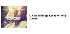 Aussie Writings Essay Writing Contest 2018, Class 9