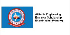 All India Engineering Entrance  Scholarship Examination (Primary) - 2018, Class 12