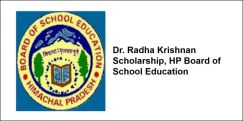 Dr. Radha Krishnan Scholarship, HP Board of School Education 2018, Class 12