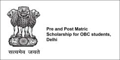 Pre and Post Matric Scholarship for OBC students, Delhi 2018, Class 2