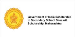Government of India Scholarship in Secondary School  Sanskrit Scholarship, Maharashtra 2017-18, Class 12