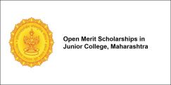 Open Merit Scholarships in Junior College, Maharashtra 2017-18, Class 12