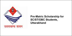 Pre-Matric Scholarship for SC/ST/OBC Students, Uttarakhand 2018-19, Class 3
