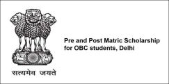 Pre and Post Matric Scholarship for OBC students, Delhi 2018, Class 3