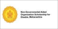 Non-Governmental Aided Organization Scholarship for Disable 2017, Maharashtra, Class 4