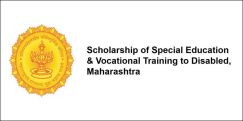 Scholarship of Special Education & Vocational Training to Disabled, Maharashtra 2017-18, Class 4