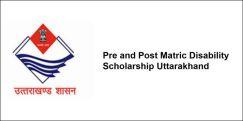 Pre and Post Matric Disability Scholarship Uttarakhand 2018, Class 4