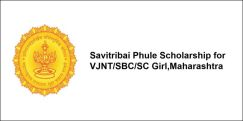 Savitribai Phul Scholarship for VJNT/SBC/SC Girl,  Maharashtra 2017-18, Class 6