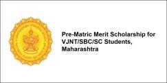 Pre-Matric Merit Scholarship for VJNT/SBC/SC Students,  Maharashtra 2017-18, Class 6